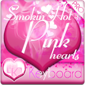 Smokin HOT PINK Keyboard Skin