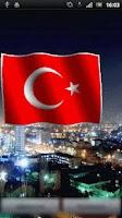 Screenshot of Turk Flag LiveWallpaper