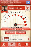 Screenshot of Marriage anniversary Alert