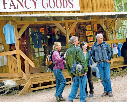 Skagway-Fancy-Goods - Princess Cruises brings you to the doorstep of Skagway on the Alaska Panhandle, population 920, where you can check out its small-town charm.