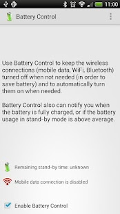 Battery Control Trial screenshot