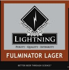 Logo of Lightning Fulminator Lager