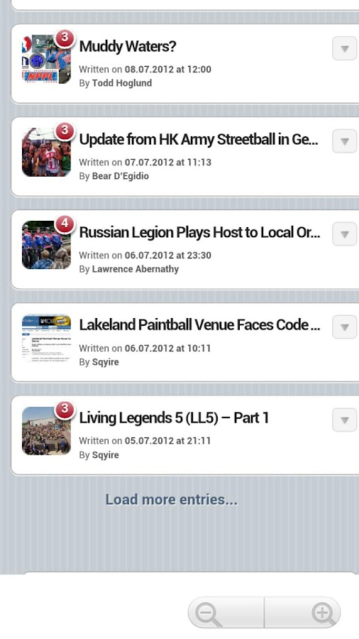 Social Paintball - screenshot