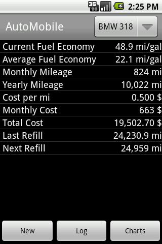 AutoMobile- screenshot