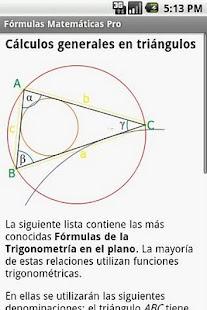 玩教育App|Fórmulas Matemáticas Pro免費|APP試玩