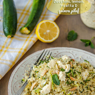 Zucchini and Lemon Quinoa Pilaf