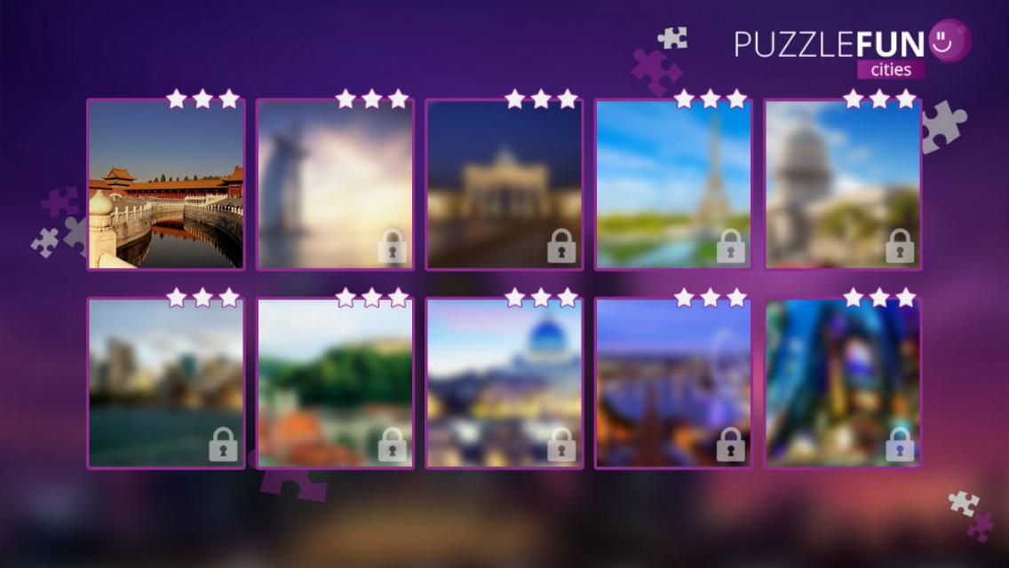 PuzzleFUN Cities - screenshot