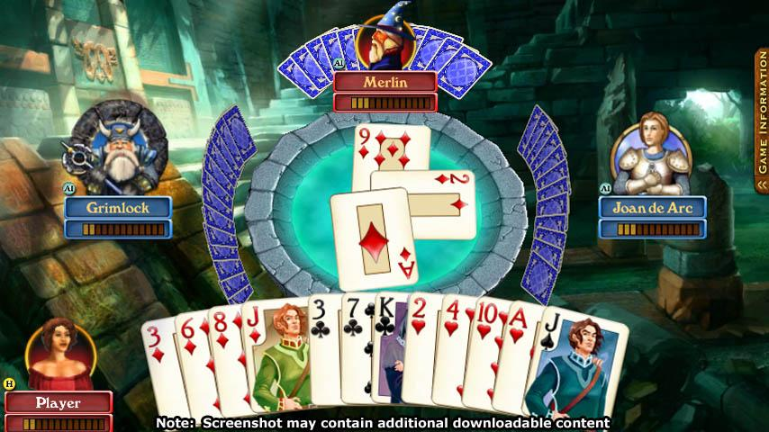 Hardwood Spades - screenshot
