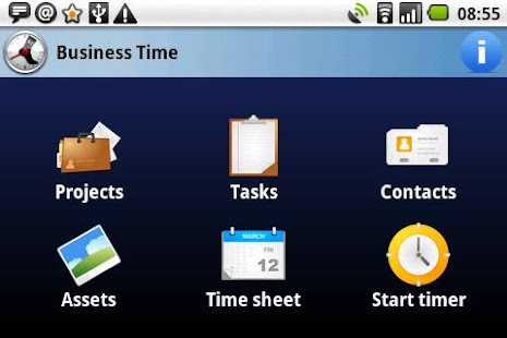 Business Time PRO - 50% SALE! - screenshot thumbnail