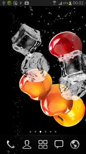 Вишневый сок - живые обои