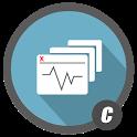 C Floating icon