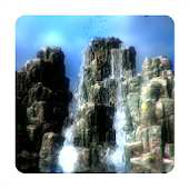 3D Waterfall Island LWP