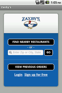 Zaxby's- screenshot thumbnail