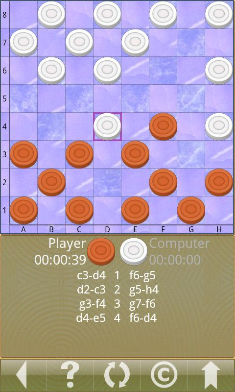 Checkers V - screenshot