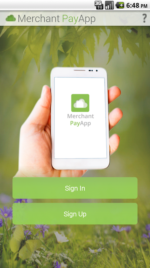 Merchant App- screenshot