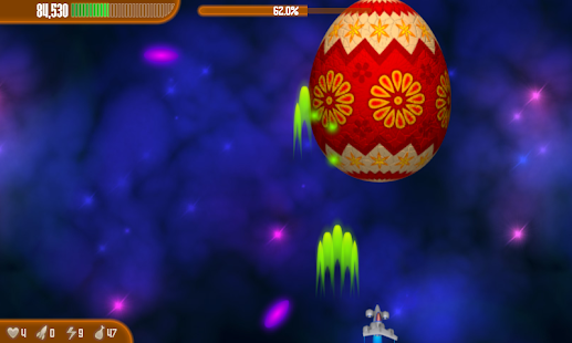 Chicken Invaders 3 Easter- screenshot thumbnail