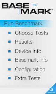 Basemark OS Platform Benchmark Screenshot 1