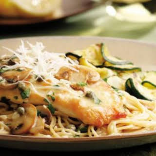 Chicken Piccata With Mushrooms And Capers Recipes.