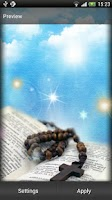 Screenshot of Rosary Live Wallpaper
