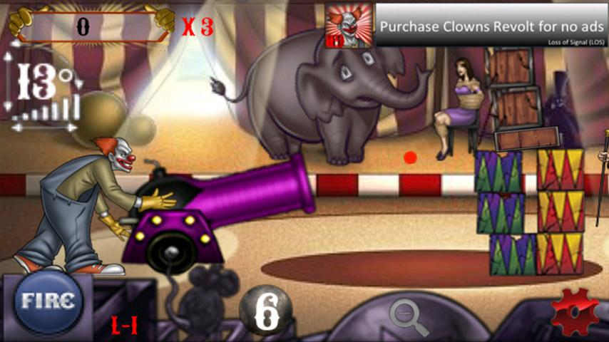 Clowns Revolt (free) - screenshot