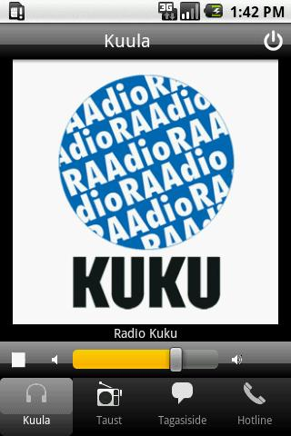 Radio Kuku - screenshot