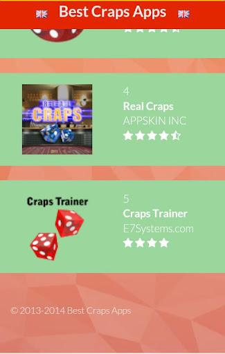 【免費紙牌App】Craps-APP點子