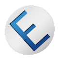 Dark Red & Blue for EvolveSMS icon