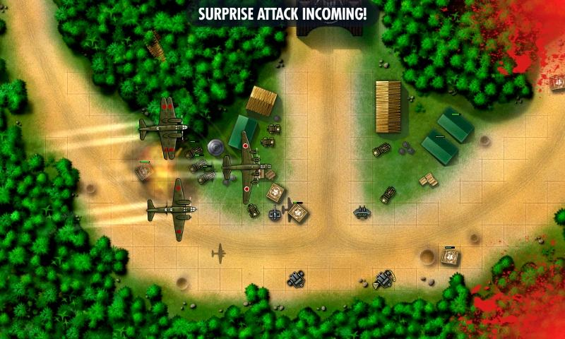 iBomber Defense Pacific- screenshot