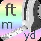 medidor de distancia icon