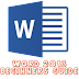 Word 2013 Guide For Beginners