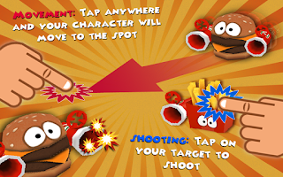 Screenshot of Food Fighters