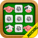 Matching Game Farm Animals icon