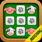 Matching Game Farm Animals icon