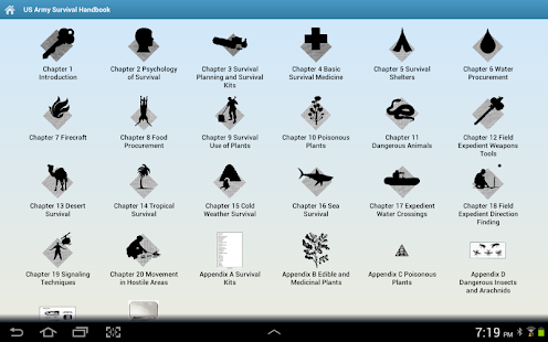 Army Survival Handbook – Offline Manual Guide App- screenshot thumbnail