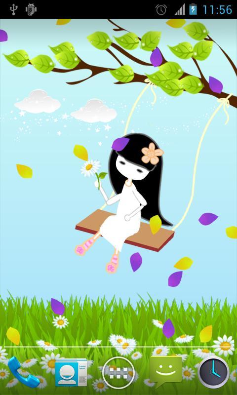 The Swing Live Wallpaper- screenshot
