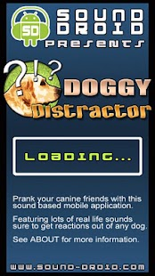 Dog Distractor Sound Droid - screenshot thumbnail