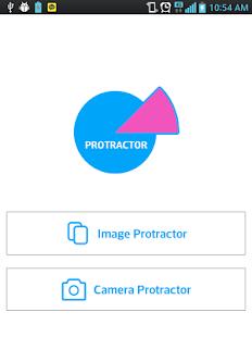 Protractor screenshot