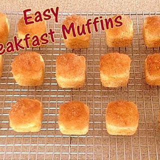Easy Breakfast Muffins.