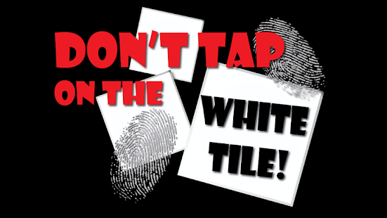 不要點擊白色瓷磚
