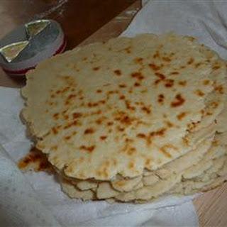 Piadina Romagnola (Italian Flat Bread).