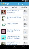 Screenshot of LingQ - Learn a Language