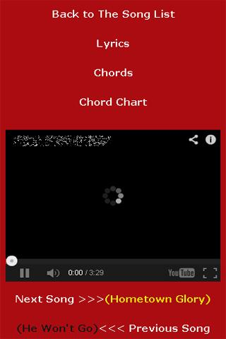 The Cranberries SongBook - screenshot