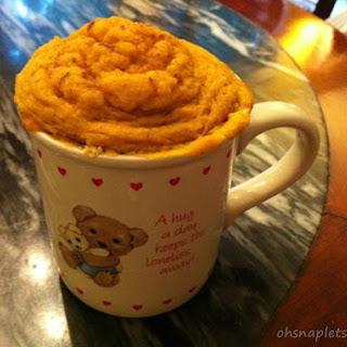 Paleo Pumpkin Cake In A Cup.