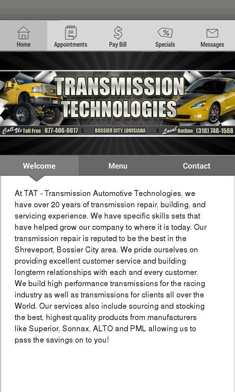 Transmission Automotive Techno - screenshot