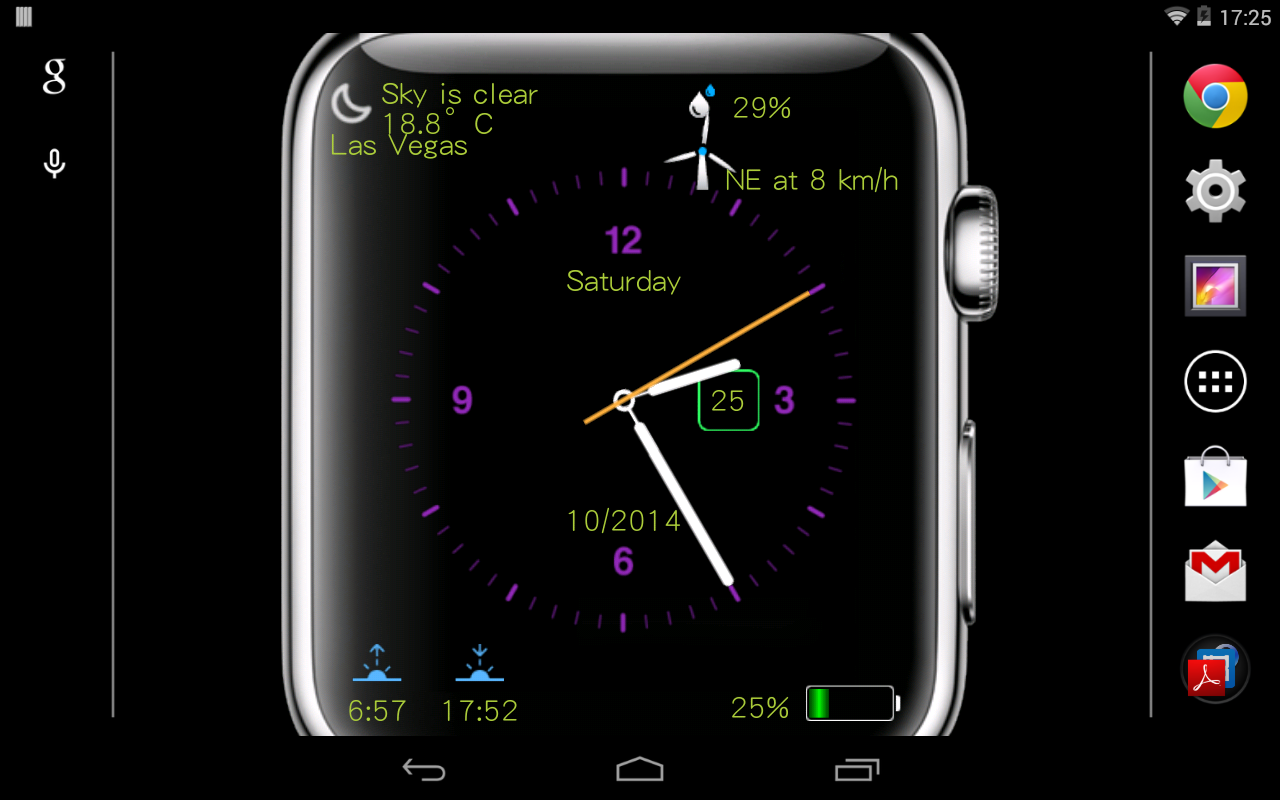 MyWatch Live Wallpaper  Android Apps on Google Play