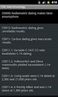 Screenshot of TalkOrigins Creationist Claims