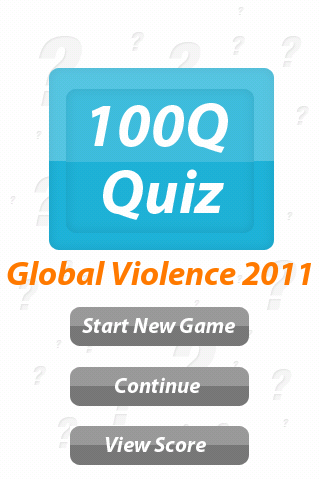 Global Conflict - 100Q Quiz- screenshot