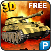 3D Army Tank Parking Simulator
