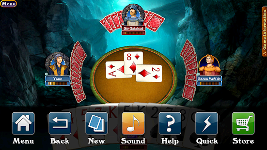 Hardwood Spades- screenshot thumbnail