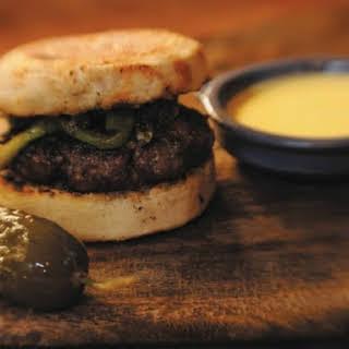 Zakary Pelaccio's Lamb Burgers.